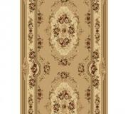 Синтетическая ковровая дорожка Selena / Lotos 575-110 beige - высокое качество по лучшей цене в Украине.