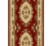 Синтетическая ковровая дорожка Selena / Lotos 575-210 red - высокое качество по лучшей цене в Украине.
