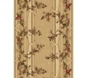 Синтетическая ковровая дорожка Selena / Lotos 580-110 beige - высокое качество по лучшей цене в Украине.