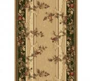 Синтетическая ковровая дорожка Selena / Lotos 580-130 green - высокое качество по лучшей цене в Украине.