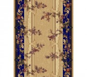 Синтетическая ковровая дорожка Selena / Lotos 580-180 blue - высокое качество по лучшей цене в Украине.