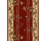 Синтетическая ковровая дорожка Selena / Lotos 580-210 red - высокое качество по лучшей цене в Украине.