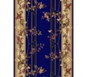Синтетическая ковровая дорожка Selena / Lotos 580-810 blue - высокое качество по лучшей цене в Украине.