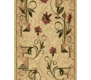 Синтетическая ковровая дорожка Selena / Lotos 587-116 beige - высокое качество по лучшей цене в Украине.