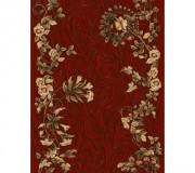 Синтетическая ковровая дорожка Selena / Lotos 590-220 red - высокое качество по лучшей цене в Украине.