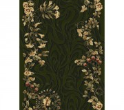 Синтетическая ковровая дорожка Selena / Lotos 590-330 green - высокое качество по лучшей цене в Украине.