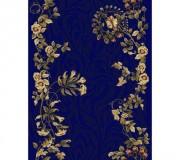 Синтетическая ковровая дорожка Selena / Lotos 590-880 blue - высокое качество по лучшей цене в Украине.