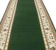 Кремлевская ковровая дорожка Silver / Gold Rada 046-32 green - высокое качество по лучшей цене в Украине.