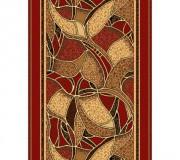 Синтетическая ковровая дорожка Silver  / Gold Rada 132-22 red Rulon - высокое качество по лучшей цене в Украине.