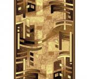 Синтетическая ковровая дорожка Silver  / Gold Rada 140-12 brown - высокое качество по лучшей цене в Украине.