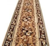 Синтетическая ковровая дорожка Silver / Gold Rada 235-12 Buket brown - высокое качество по лучшей цене в Украине.