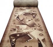 Синтетическая ковровая дорожка Silver / Gold Rada 311-12 Orbita beige АКЦИЯ - высокое качество по лучшей цене в Украине.