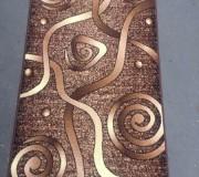 Синтетическая ковровая дорожка Silver  / Gold Rada Udavi-labirint - высокое качество по лучшей цене в Украине.
