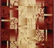 Синтетическая ковровая дорожка Super Elmas 5131C ivory-d.red - высокое качество по лучшей цене в Украине.