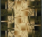 Синтетическая ковровая дорожка Super Elmas 5131C ivory-d.green - высокое качество по лучшей цене в Украине.