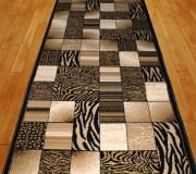 Синтетическая ковровая дорожка Super Elmas 4246A black-black - высокое качество по лучшей цене в Украине.