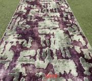 Синтетическая ковровая дорожка Merinos Yaqut 6848 purple - высокое качество по лучшей цене в Украине.