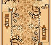 Синтетическая ковровая дорожка Zeynep 505 , BEIGE - высокое качество по лучшей цене в Украине.