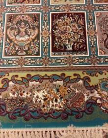 Иранский ковер Diba Carpet Farah blue - высокое качество по лучшей цене в Украине.