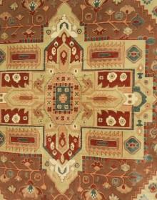 Иранский ковер Diba Carpet Ghashghaei l.brown - высокое качество по лучшей цене в Украине.