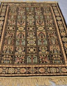 Иранский ковер Diba Carpet Kheshti d.brown - высокое качество по лучшей цене в Украине.
