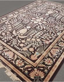 Иранский ковер Diba Carpet Farhan d.brown - высокое качество по лучшей цене в Украине.