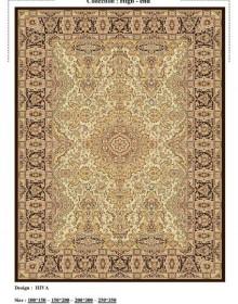 Иранский ковер Diba Carpet Hiva d.brown - высокое качество по лучшей цене в Украине.