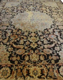 Иранский ковер Diba Carpet Isfahan d.brown - высокое качество по лучшей цене в Украине.