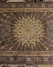 Иранский ковер Diba Carpet Setareh d.brown - высокое качество по лучшей цене в Украине.