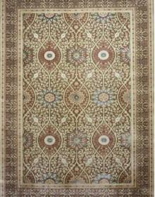 Иранский ковер Diba Carpet Taranom Brown - высокое качество по лучшей цене в Украине.