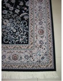 Иранский ковер Hamadan Silk 5.75053 dark blue - высокое качество по лучшей цене в Украине.