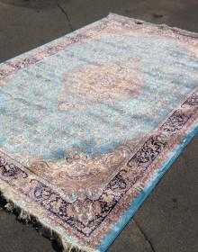 Иранский ковер Silky Collection (D-015/1069 blue) - высокое качество по лучшей цене в Украине.