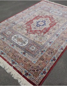 Иранский ковер Silky Collection (D-001/1043 red) - высокое качество по лучшей цене в Украине.