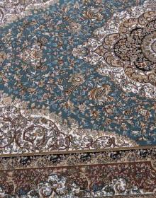 Персидский ковер Kashan 612-LBL blue - высокое качество по лучшей цене в Украине.