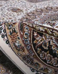 Персидский ковер Kashan 620-C cream - высокое качество по лучшей цене в Украине.