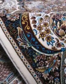 Персидский ковер Kashan 803-C cream - высокое качество по лучшей цене в Украине.