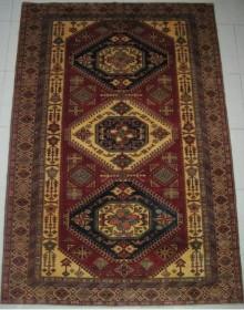 Шерстяной ковер Kazak 121975 - высокое качество по лучшей цене в Украине.