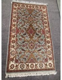 Шерстяной ковер 9-9 Wool SG-5469 SE-339 L.BLUE IVORY - высокое качество по лучшей цене в Украине.