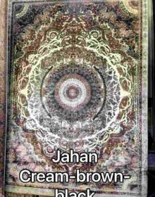 Иранский ковер Diba Carpet Jahan cream-brown-black - высокое качество по лучшей цене в Украине.