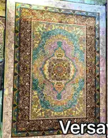Иранский ковер Diba Carpet Versay gray-brown - высокое качество по лучшей цене в Украине.