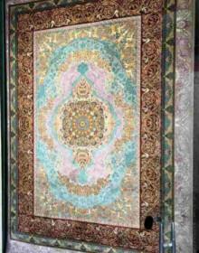 Иранский ковер Diba Carpet Versay gray-brown-copper - высокое качество по лучшей цене в Украине.