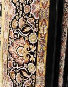 Иранский ковер Marshad Carpet 3003 Black - высокое качество по лучшей цене в Украине.