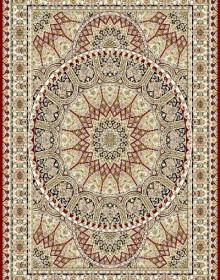 Иранский ковер Marshad Carpet 3008 Red - высокое качество по лучшей цене в Украине.