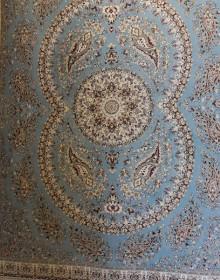 Иранский ковер Marshad Carpet 3013 Blue - высокое качество по лучшей цене в Украине.