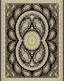 Иранский ковер Marshad Carpet 3013 Dark Black - высокое качество по лучшей цене в Украине.