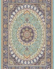 Иранский ковер Marshad Carpet 3016 Blue - высокое качество по лучшей цене в Украине.