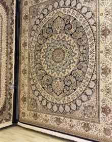 Иранский ковер Marshad Carpet 3016 Dark Blue - высокое качество по лучшей цене в Украине.