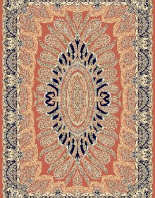 Иранский ковер Marshad Carpet 3025 Red - высокое качество по лучшей цене в Украине.