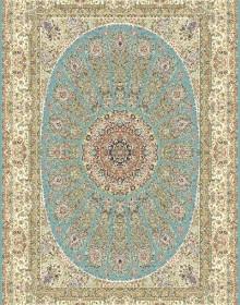 Иранский ковер Marshad Carpet 3026 Blue - высокое качество по лучшей цене в Украине.