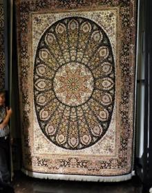 Иранский ковер Marshad Carpet 3026 Dark Brown - высокое качество по лучшей цене в Украине.